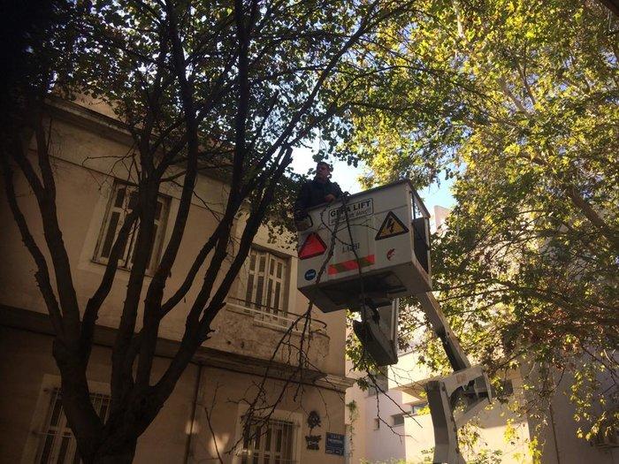 Ο δήμος Αθήνας καθαρίζει άλλον έναν πεζόδρομο στο Μεταξουργείο - εικόνα 3