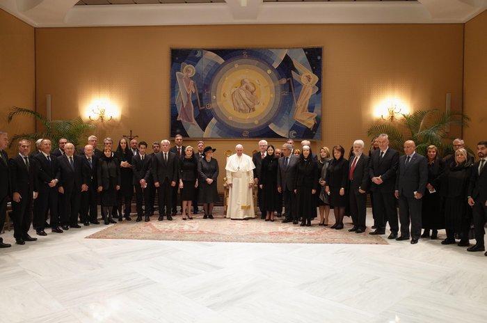 Μαριάννα Βαρδινογιάννη: Συνάντησε τον Πάπα Φραγκίσκο στο Βατικανό [Εικόνες] - εικόνα 2