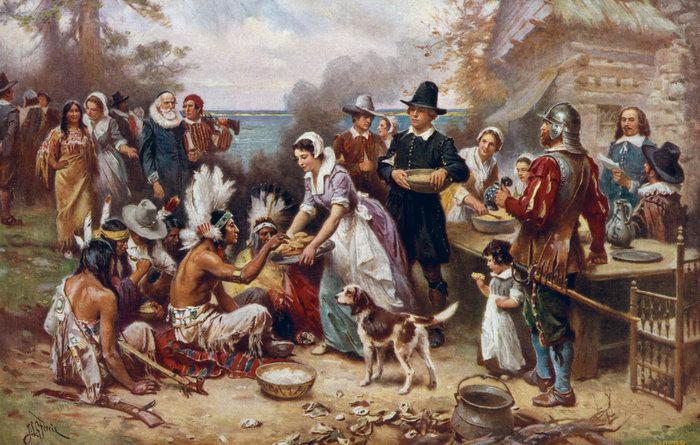 Η πρώτη Ημέρα των Ευχαριστιών