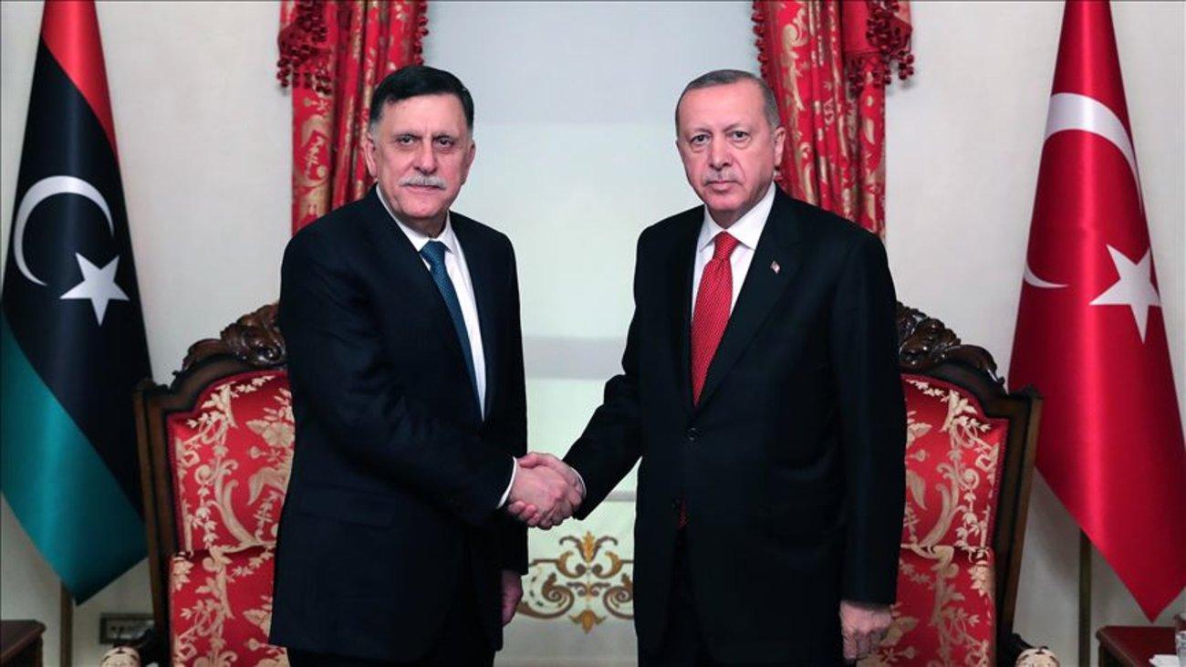 Αποτέλεσμα εικόνας για φωτο deal Τουρκίας-Λιβύης
