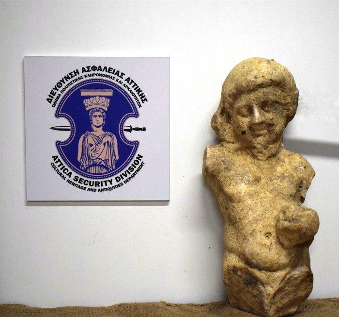 Μεσσηνία: 34χρονος προσπάθησε να πουλήσει αρχαίο άγαλμα για 350.000 ευρώ