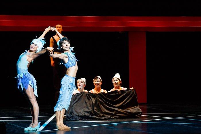 Μαγικός Αυλός με τα μπαλέτα Μωρίς Μπεζάρ στο Μέγαρο