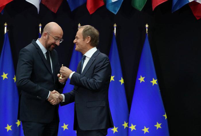 Ευρωπαϊκό Συμβούλιο: Παραδίδει την σκυτάλη στον Μισέλ ο Τουσκ - εικόνα 2