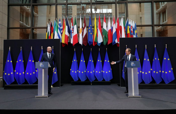 Ευρωπαϊκό Συμβούλιο: Παραδίδει την σκυτάλη στον Μισέλ ο Τουσκ - εικόνα 5
