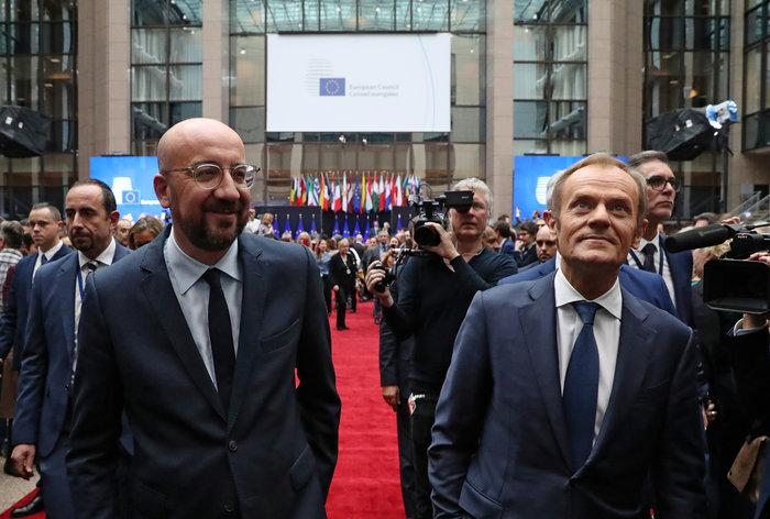 Ευρωπαϊκό Συμβούλιο: Παραδίδει την σκυτάλη στον Μισέλ ο Τουσκ - εικόνα 6