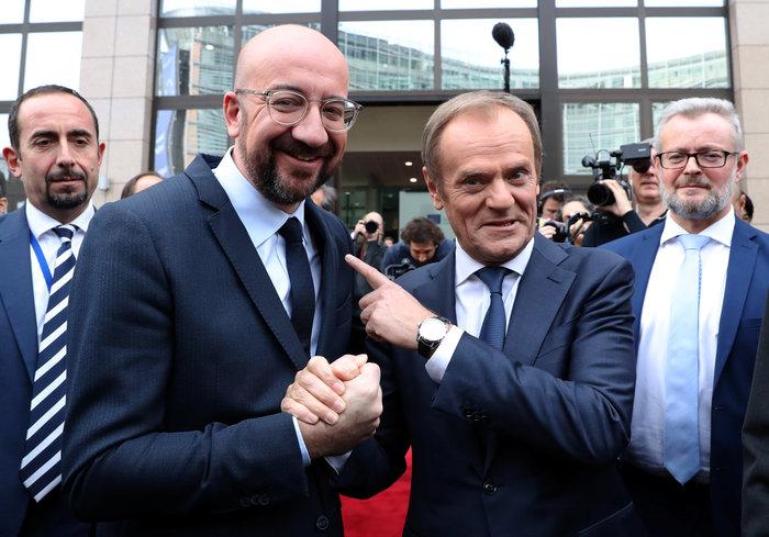 Ευρωπαϊκό Συμβούλιο: Παραδίδει την σκυτάλη στον Μισέλ ο Τουσκ - εικόνα 7