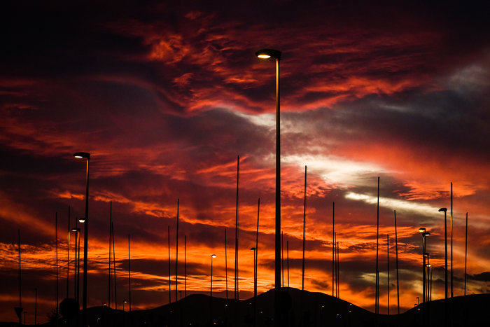 Η Τατιάνα Μπόλαρη φωτογραφίζει το μαγικό ηλιοβασίλεμα - εικόνα 2