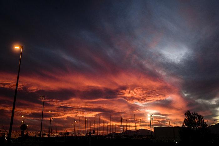 Η Τατιάνα Μπόλαρη φωτογραφίζει το μαγικό ηλιοβασίλεμα - εικόνα 7