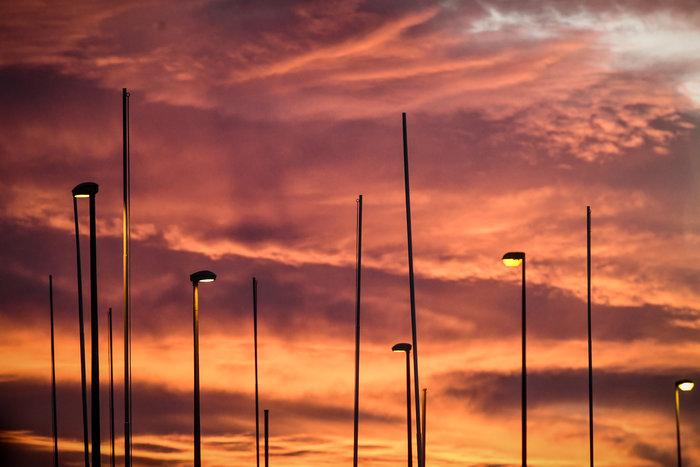 Η Τατιάνα Μπόλαρη φωτογραφίζει το μαγικό ηλιοβασίλεμα - εικόνα 8