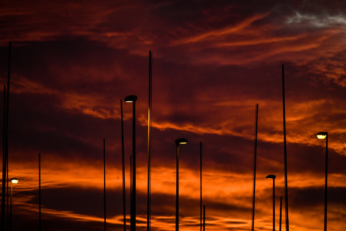 Η Τατιάνα Μπόλαρη φωτογραφίζει το μαγικό ηλιοβασίλεμα - εικόνα 9
