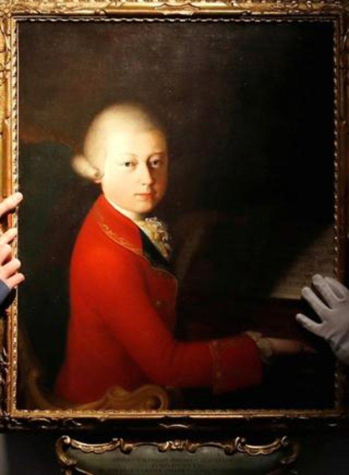 Το παιδικό πορτραίτο του Μότσαρτ πουλήθηκε για 4εκ. ευρώ