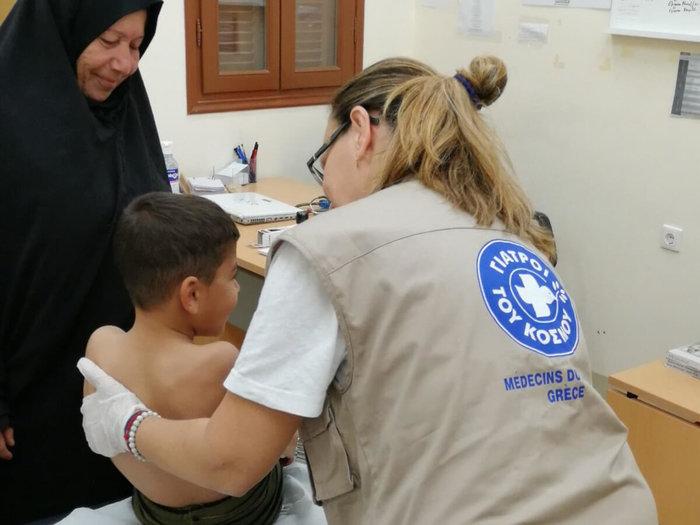 Καστελλόριζο: Οι Γιατροί του Κόσμου εξέτασαν 100 κατοίκους [φωτό - βίντεο] - εικόνα 3