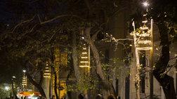 Παπαστράτος: Πιο φωτεινά Χριστούγεννα, στολίζει την Αρεοπαγίτου