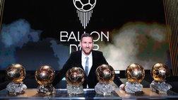 Μέσι king: Κατέκτησε την 6η «Χρυσή Μπάλα» [εικόνες & βίντεο]