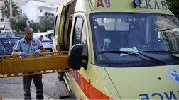 Ηράκλειο: Μηχανή παρέσυρε και τραυμάτισε σοβαρά πεζό