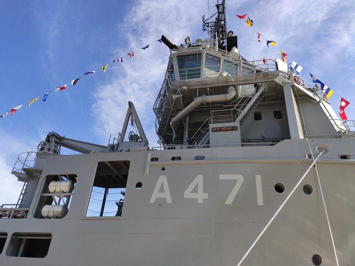 «Άτλαντας»: Αυτό είναι τo νέο πλοίο του Πολεμικού Ναυτικού - εικόνα 2
