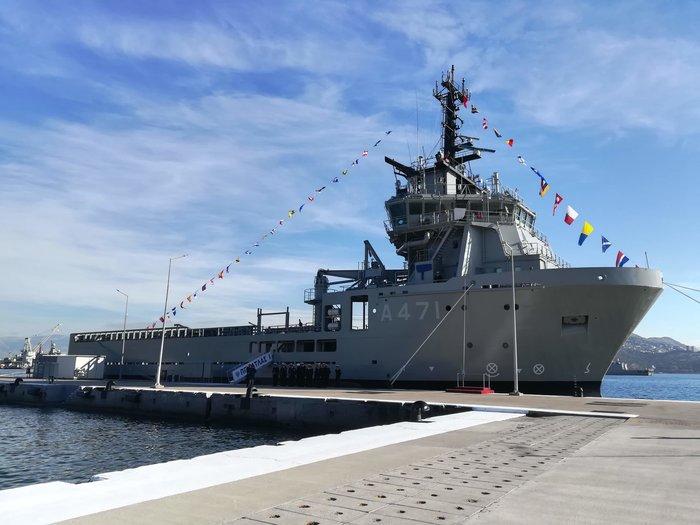 «Άτλαντας»: Αυτό είναι τo νέο πλοίο του Πολεμικού Ναυτικού - εικόνα 3