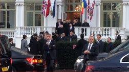 Λονδίνο: Αποδοκίμασαν τον Ερντογάν έξω απο το ξενοδοχείο του - Βίντεο