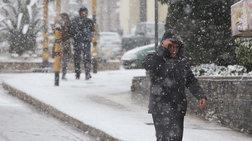 Βαρυχειμωνιά την Τετάρτη -  Στα λευκά περιοχές της Βόρειας Ελλάδας (φωτό)