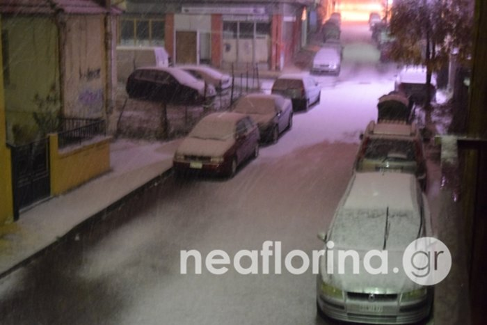 Βαρυχειμωνιά την Τετάρτη -  Στα λευκά περιοχές της Βόρειας Ελλάδας (φωτό) - εικόνα 5