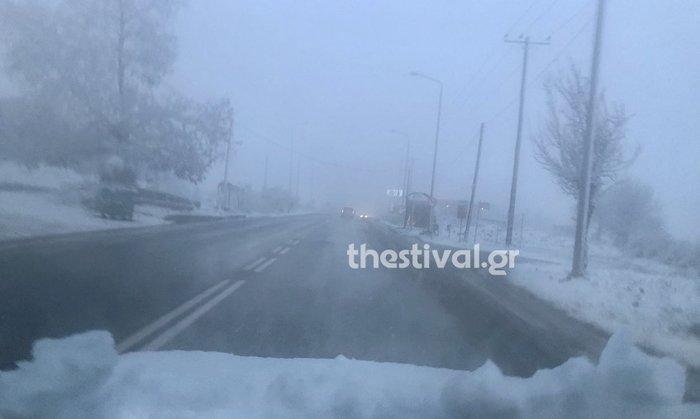 Στα «λευκά»... ξύπνησε και η Θεσσαλονίκη [εικόνες & βίντεο] - εικόνα 4