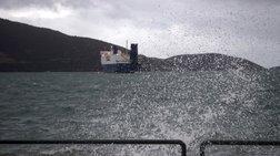 Πήρε κλίση το πλοίο ανοιχτά της Λέσβου, διασώθηκε το πλήρωμα