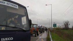 Καρδίτσα: Η Αστυνομία έβαλε... μπλόκο στο μπλόκο των αγροτών [βίντεο]