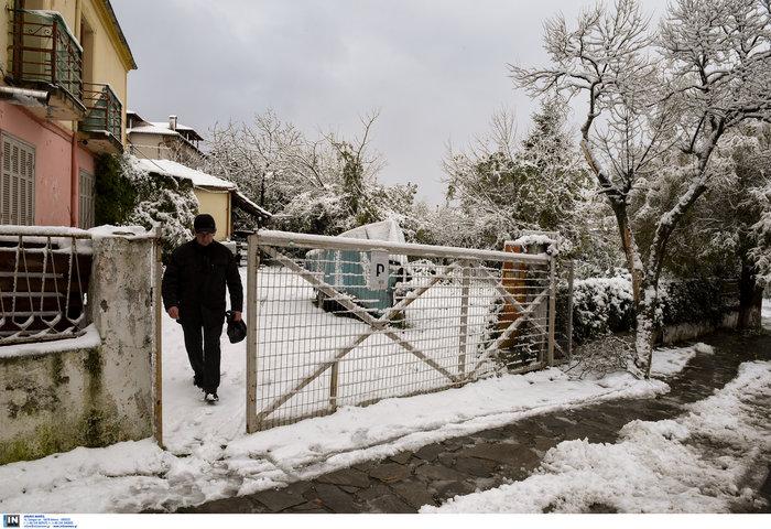 Τσουχτερό κρύο σε όλη τη χώρα: Το έστρωσε για τα καλα΄- Τα πρώτα προβλήματα
