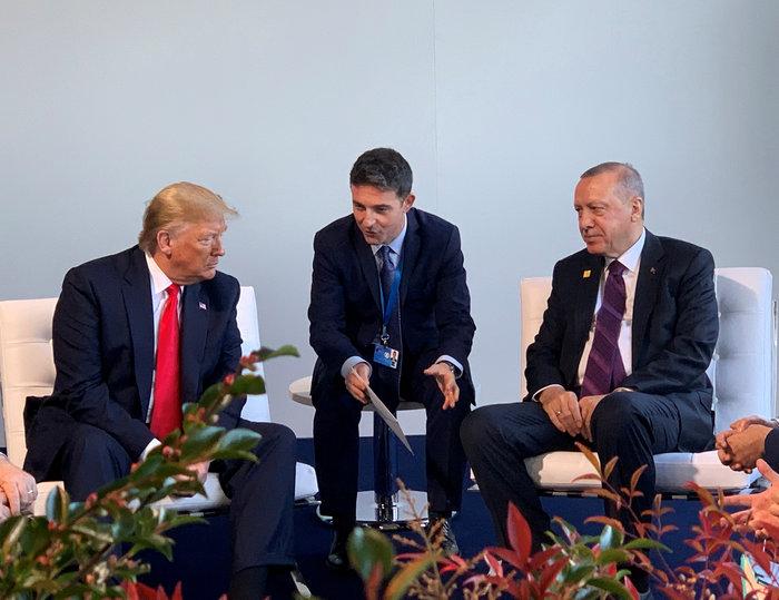 Ξαφνική συνάντηση Τραμπ - Ερντογάν στο περιθώριο της Συνόδου του ΝΑΤΟ