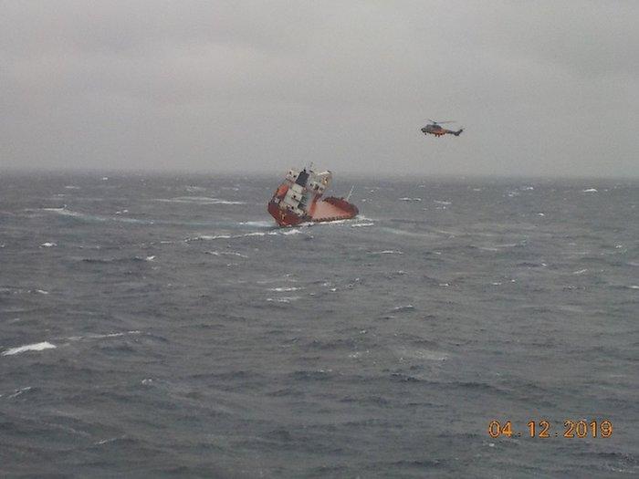 Ακυβέρνητο πλοίο στα ανοιχτά της Λέσβου - Απομακρύνθηκε το πλήρωμα