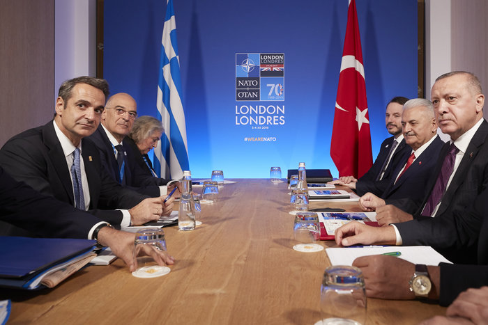 Αυτή την ώρα η κρίσιμη συνάντηση Μητσοτάκη - Ερντογάν - εικόνα 2