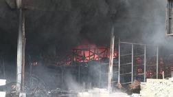 Τραγωδία σε hot spot Μυτιλήνης: Κάηκε γυναίκα σε κοντέινερ