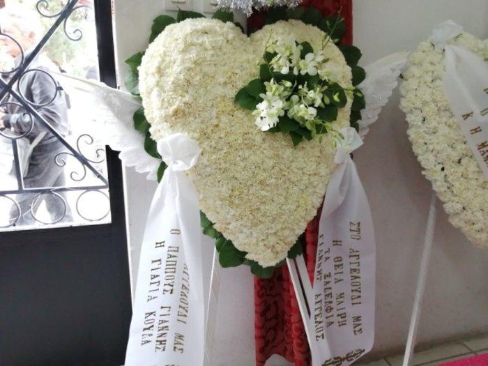 Πόνος στην κηδεία του μικρού αγοριού στο Ιλιον-«Αγγελούδι μας...» [εικόνες] - εικόνα 2