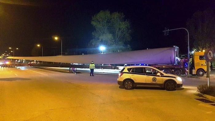 Ιωάννινα: Οχημα-μαμούθ 74 μέτρων άφησε άφωνους τους πάντες [εικόνες]