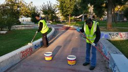 Ο Δήμος Αθηναίων καθάρισε πλατείες σε Γκάζι και Παγκράτι [φωτογραφίες]