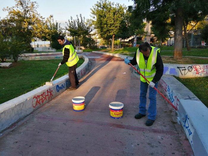 Ο Δήμος Αθηναίων καθάρισε πλατείες σε Γκάζι και Παγκράτι [φωτογραφίες] - εικόνα 3
