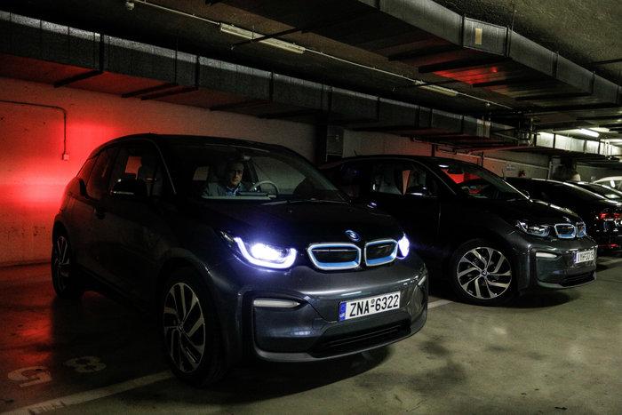 Βουλή: Αυτό είναι το γκαράζ ηλεκτρικών αυτοκινήτων [εικόνες]