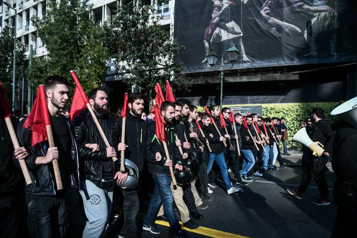 Δολοφονία Γρηγορόπουλου: Ολοκληρώθηκε η μαθητική-φοιτητική πορεία - εικόνα 3