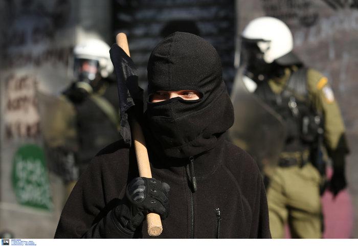 Οι αναρχικοί στην πορεία: Ο μάσκες και τα εξαρτήματα - εικόνα 5