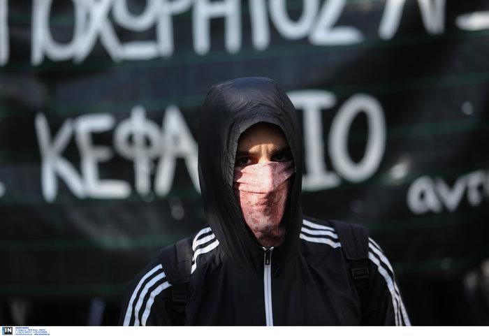 Οι αναρχικοί στην πορεία: Ο μάσκες και τα εξαρτήματα - εικόνα 7