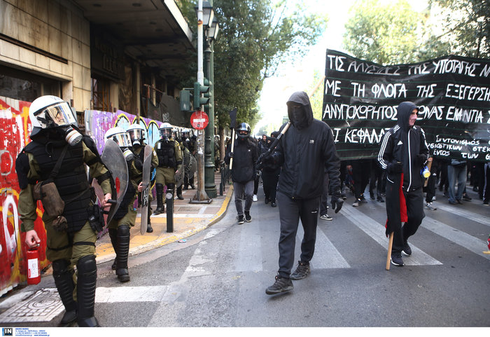 Οι αναρχικοί στην πορεία: Ο μάσκες και τα εξαρτήματα - εικόνα 9