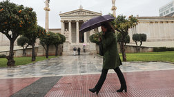Άνοδος της θερμοκρασίας το Σάββατο αλλά και τοπικές βροχές