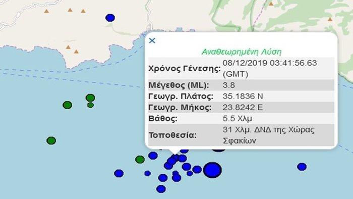 Νέος σεισμός στην Κρήτη - Τι λένε οι σεισμολόγοι