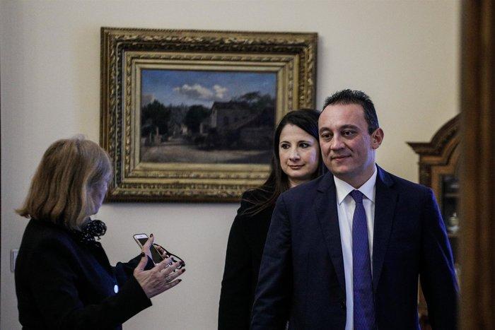 Ορκίστηκε ο νέος υφυπουργός Εξωτερικών Κώστας Βλάσης