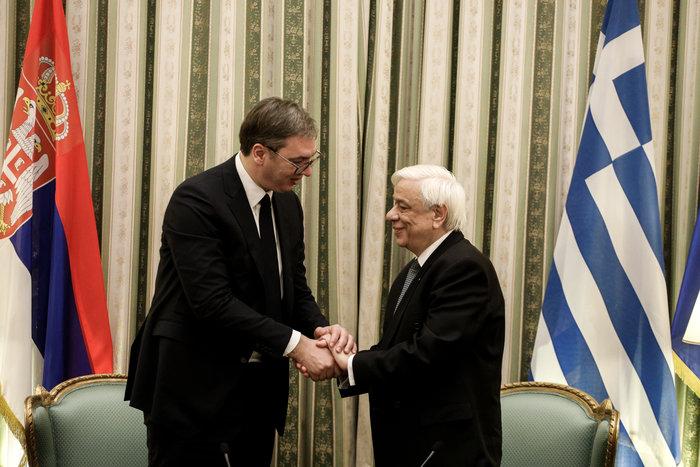 Συνάντηση ΠτΔ - Βούτσιτς: θα υπερασπιστούμε το έδαφός μας