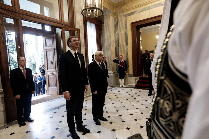 Συνάντηση ΠτΔ - Βούτσιτς: θα υπερασπιστούμε το έδαφός μας - εικόνα 2