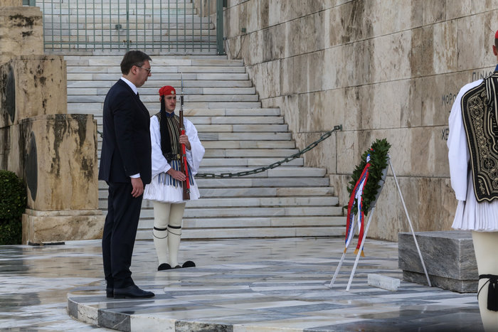 Συνάντηση ΠτΔ - Βούτσιτς: θα υπερασπιστούμε το έδαφός μας - εικόνα 4