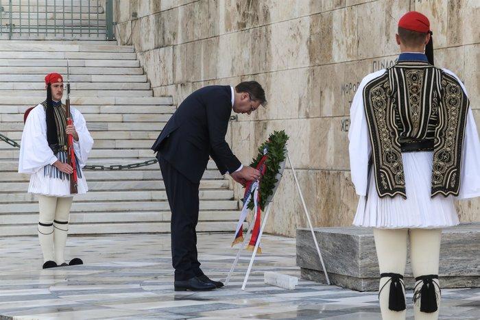 Συνάντηση ΠτΔ - Βούτσιτς: θα υπερασπιστούμε το έδαφός μας - εικόνα 5