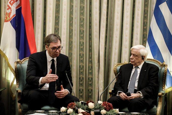 Συνάντηση ΠτΔ - Βούτσιτς: θα υπερασπιστούμε το έδαφός μας - εικόνα 3