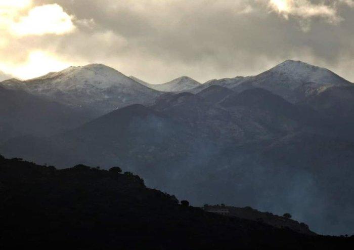 Χανιά: Τα Λευκά Ορη... άσπρισαν -Τα πρώτα χιόνια [εικόνες]